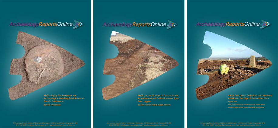 Archaeology Reports Online covers