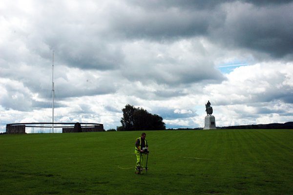 Geophysics at Bannockburn