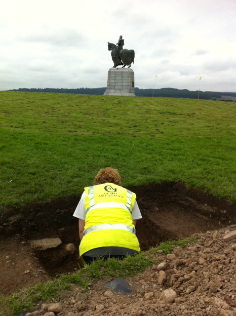 Excavations at Bannockburn