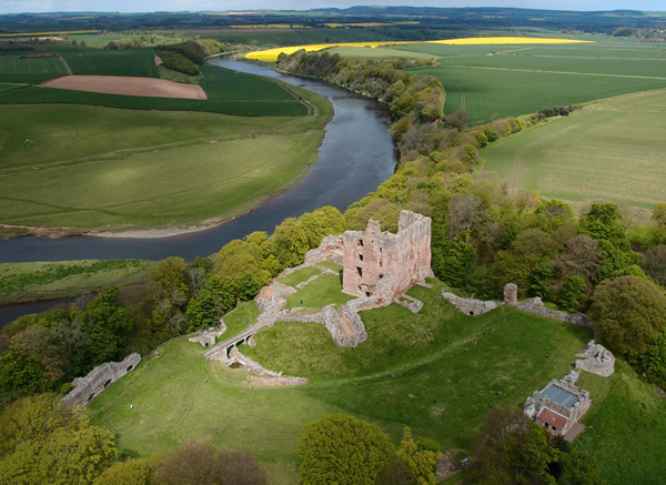 Norham Castle. Image courtesy of Mark Woolston-Houshold