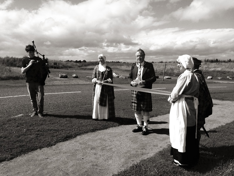 Launch of the new Culloden Battlefield Trail