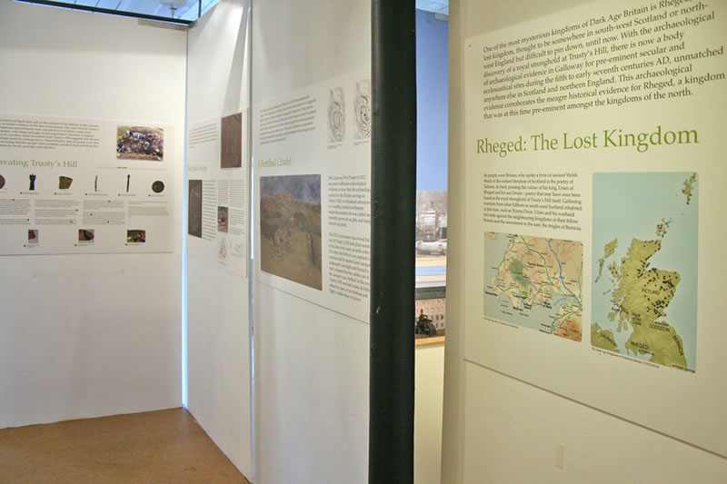 Trusty's Hill Exhibition Panels