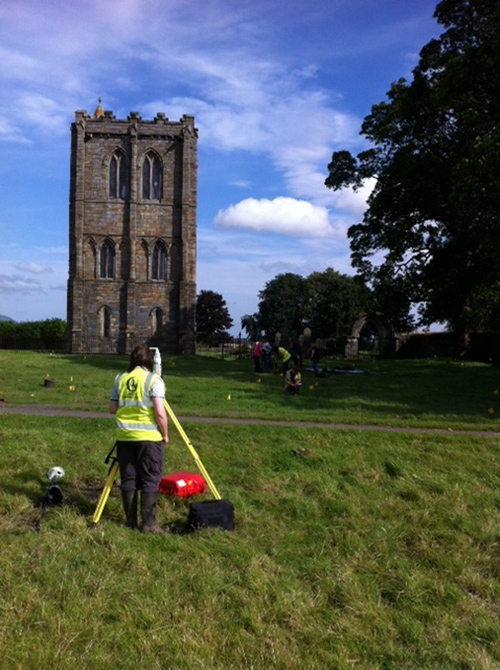 Archaeological survey of Cambuskenneth Abbey