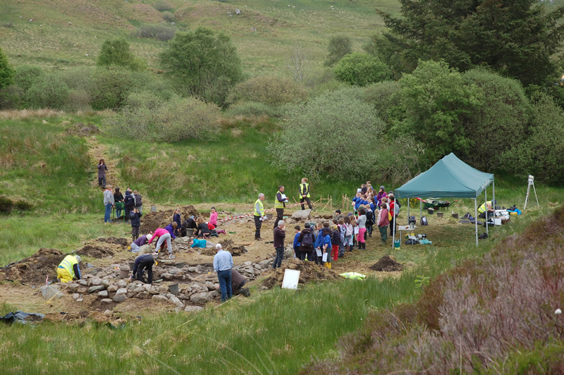 The Tigh Caol excavation